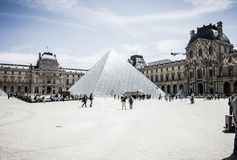 The Louvre Museum Stock Image