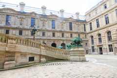 The Louvre Museum Stock Images