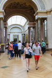 Louvre museum Royalty Free Stock Photography