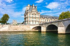 Louvre museum. Beautiful view of Louvre museum, Paris, France Stock Photography
