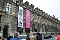 Louvre Museum Building Stock Photos