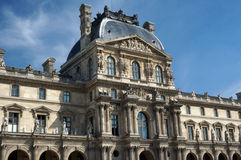 Louvre Museum Building Royalty Free Stock Photo