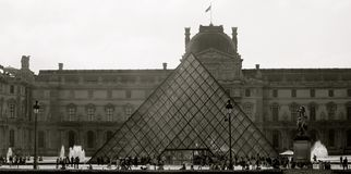 Louvre Museum at Daytime Stock Images