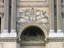 Louvre Museum Door Entrance Royalty Free Stock Photography