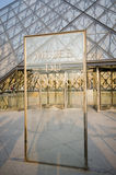 Louvre Museum Entrance on June 5 in Paris, Franc Royalty Free Stock Photography