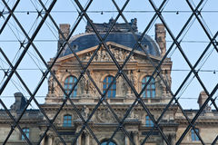 Louvre Museum Entrance Royalty Free Stock Images
