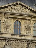 Louvre Museum Exterior #2 Royalty Free Stock Photo