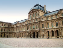 Louvre museum - France - Paris royalty free stock photo