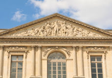 Louvre Museum front view Stock Photography