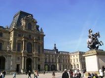 Louvre museum Stock Photos