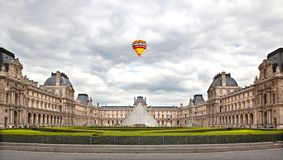 Louvre Museum is the most visited in France Royalty Free Stock Photography