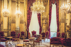 Louvre Museum Napoleon Apartments Royalty Free Stock Photos