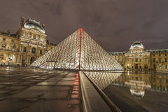 Louvre Museum Stock Image