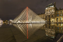 Louvre Museum Stock Images