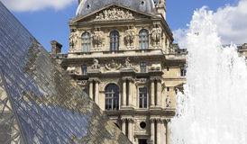 The Louvre Museum Royalty Free Stock Images