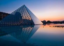 Louvre Museum, Paris stock images