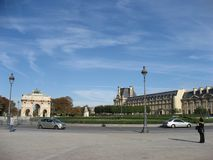 The Louvre Museum Paris Royalty Free Stock Photo