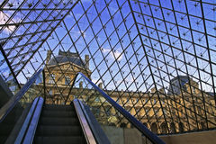 Louvre Museum in Paris Royalty Free Stock Photos
