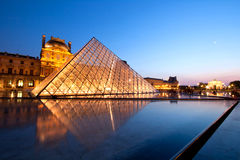 Louvre Museum Paris Stock Images