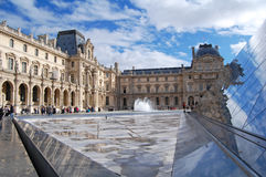 The Louvre Museum in Paris Royalty Free Stock Image