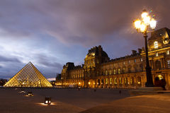 Louvre Museum Paris Royalty Free Stock Photo