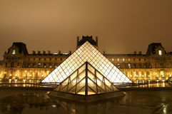 Louvre Museum, Paris Stock Photos
