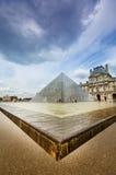 Louvre Museum in Paris Stock Images