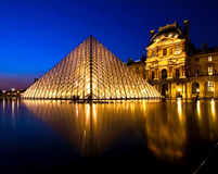 Louvre Museum Paris Royalty Free Stock Images