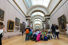 Louvre Museum - Paris Royalty Free Stock Photography
