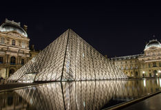 Louvre museum in Paris Stock Photography