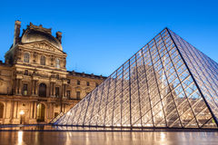 Louvre Museum Stock Photography