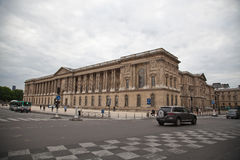 Louvre museum in Paris. Entry of Louvre museum in Paris Stock Photos
