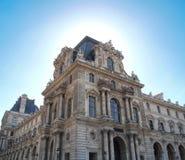 Louvre museum Paris France. The Louvre museum is a famous art gallery in Paris, France Stock Photography