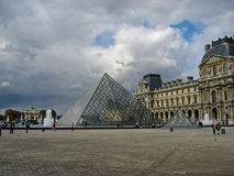 Louvre Museum Paris France Royalty Free Stock Photo