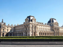 The Louvre museum in Paris, France. The Louvre museum is a famous art gallery in Paris, France Stock Photos