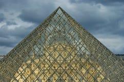 Louvre museum in Paris, France Stock Images