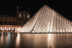 Louvre Museum  in Paris France Royalty Free Stock Image