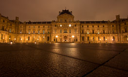 Louvre Museum in Paris France Stock Image