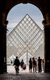Louvre Museum Paris France Royalty Free Stock Photos