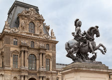 Louvre Museum Paris France Stock Photos