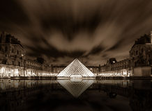 Louvre Museum in Paris, France Stock Photo