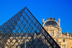 Louvre Museum, Paris, France. stock photo