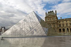 Louvre museum Royalty Free Stock Image