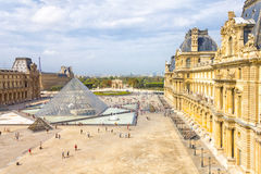 The Louvre Museum, Paris Stock Photo