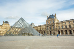 Louvre Museum in Paris Royalty Free Stock Images