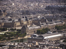 Louvre. Museum in Paris, France stock photos