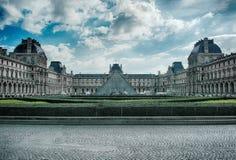 Louvre museum. In paris, france museum Stock Photo