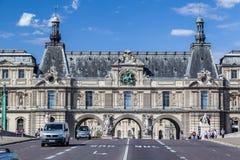 Louvre Museum Paris France Stock Image