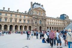 Louvre Museum Paris, France. Stock Photos