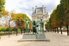 Louvre Museum - Paris, France Stock Photos